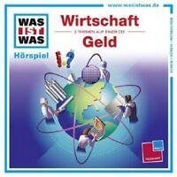 WAS IST WAS - FOLGE 44: WIRTSCHAFT/GELD  CD  28 TRACKS KINDERHÖRSPIEL  NEU