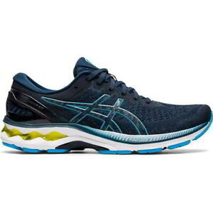 Asics Gel Kayano 27 Mens Blue Running Shoes Trainers Size UK 8-13