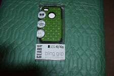GEAR UP iPhone 4/4s Bling Grip Rhinestone Stylish Shock Impact Case (NEW)