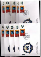 // FRANCE - 10 FDC - SPORTS - SOCCER - FIFA 2004 - WHOLESALE