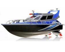 1:20 Police Patrol Cruiser RC Boat Electric Remote Control 4CH RTR Blue