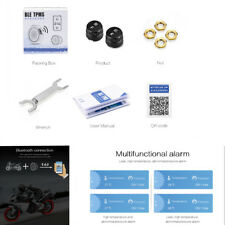 Motorcycle TPMS 2 External Sensors for Android/IOS Bluetooth 4.0 TPMS Alarm