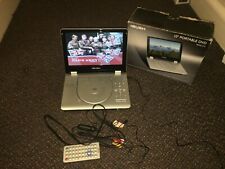 "Bush 10"" Portable DVD PDVD-312 Widescreen Remote COMPLETE BOXED"