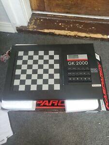 Vintage Saitek Kasparov GK2000 Electric Chess Computer w/Box No Adapter