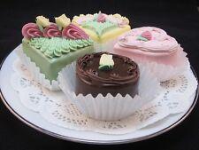4 PIECE VICTORIAN TEA CAKES