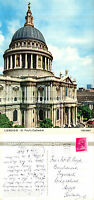 1972 St PAULS CATHEDRAL LONDON COLOUR POSTCARD
