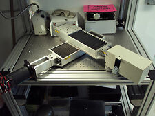 New listing Parker Xy Dual Axis Linear Positioner 406008Lnep Electro-Craft Servo Encoder ?