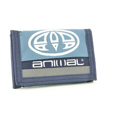 Animal Men's Rovor Tri-Fold Fabric Wallet - SS17: Cadet Navy