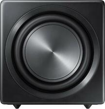"""Samsung - Sound+ 10"""" 200W Wireless Powered Subwoofer - Black"""