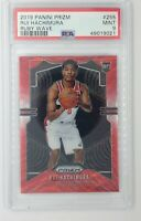 2019-20 Panini Prizm Ruby Wave Rui Hachimura Rookie RC #255, Graded PSA 9
