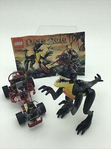 Lego 7295 Dino 2010 Velociraptor, Buggy Chaser, Minifigure & Instructions 100%