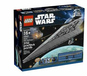 New LEGO Star wars 10221 SUPER STAR DESTROYER - UCS - Sealed ShipsWorld Wide