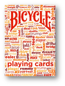 Table Talk Deck Red - Bicycle Poker Playing Cards Cardistry