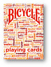 Table Talk Deck ROT - Bicycle Poker Spielkarten Playing Cards Cardistry