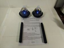 Smart Home Butterfly Solar Lamp Set Of 2 Garden Yard Decoration  t5863