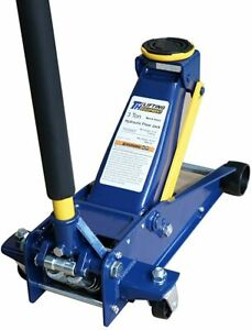 Jack Steel Hydraulic Service Heavy duty 3 Ton Floor Jack, with Double Pump Quick