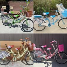 """22"""" 3 Seats Tandem Family Bicycle"""