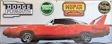 1970 PLYMOUTH ROADRUNNER SUPERBIRD RED GARAGE SCENE BANNER SIGN ART MURAL 2 X 5