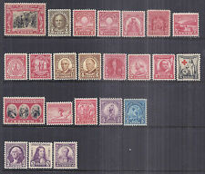 1929, 1930, 1931, 1932 US Commemorative Year Set - MNH VF-XF+ Choice*