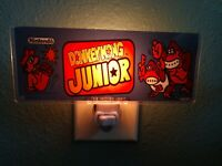 DONKEY KONG JUNIOR JR. Arcade Marquee Night Light