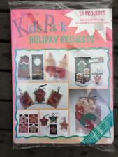 Kunin Felt Packs - Holiday Proje - 8 sheets quality felt and full color instruct