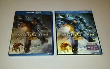 PACIFIC RIM 3D Blu-ray NEW Sealed Blu ray USA RELEASE Slip Cover