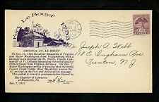 US Postal History States Related Fort Le Boeuf Military 12/7/1932 Meadville PA