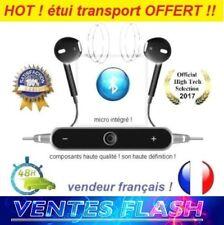 bluetooth Ecouteurs HD Clear Bass Audio Stéréo Micro iPhone Samsung Meizu LG HTC