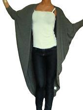 Ladies Cardigans Womens Bolero Long Sleeve Shrug Top Boyfriend Size 10 12 14 16