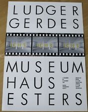 GERMAN EXHIBITION POSTER 1989 - LUDGER GERDES - art print
