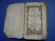 ÉTRENNES DE LA NOBLESSE pour l'année 1775