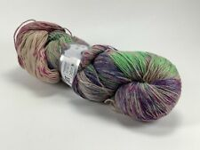 Ice Yarn hand dyed sock yarn, light brown, green, blue, pink, purple 400 m
