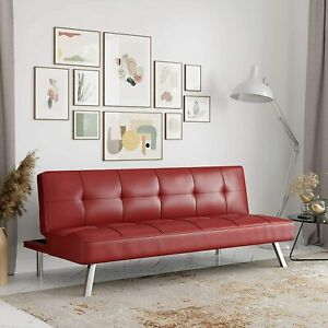 Rane Collection Sofabed, Full, Red