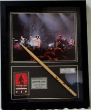 """""""Counting Crows"""" Ben Mize Hand Signed Drum Stick Display Paas Coa"""