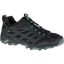 Merrell Mens Moab FST GTX Waterproof Breathable Walking Shoes UK 10 Noire
