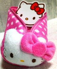 Rare Sanrio Japan Limited Hello Kitty Cute Pink Pencil Case Pouch Zipper Bag New