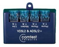 LOT OF ( 4 ) Comtest Networks NID-02V VDSL2 & ADSL/2+ Splitter SA-4505-0001GP