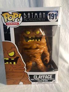 FUNKO POP Batman The Animated Series #191 CLAYFACE Vinyl Figure
