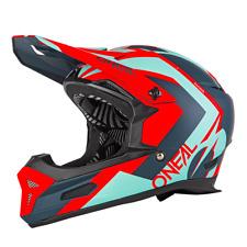 O'Neal Fury Rl HYBRID Rojo M 57/58 Full Face Casco Bicicleta Downhill Freeride