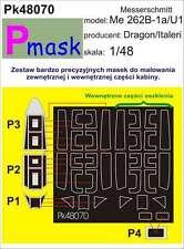 MESSERSCHMITT Me-262 B-1A/U1 PAINTING MASK TO ITALERI/DRAGON #48070 1/48 PMASK
