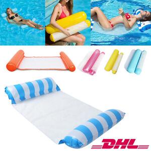 Wasser Hängematte Wasserliege Aufblasbare Schwimmende Bett Luftmatratze 5 Farben