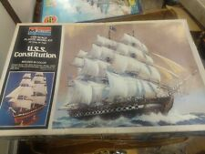 Brand New Sealed Monogram U.S.S. Constitution 1/120 Scale Plastic Model Kit 1979