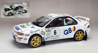 Model Car Rally Scale 1:18 SunStar Subaru Impreza diecast modellcar Rallye