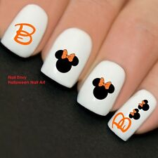20 x Halloween Nails Boo Minnie Nail Art Decals Water Transfers Stickers #737