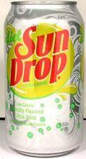 "EMPTY UNOPEN Dr. Pepper ""Diet Sun Drop"" Citrus Soda USA 2011 (vs. Mountain Dew)"