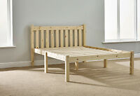 4ft  Small Double HEAVY DUTY Solid Pine Bed Frame - Very Strong (EB1)