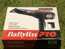 Babyliss Pro Mega Turbo 1800 Watts Hairdryer