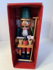 Holiday Lane Christmas Ornament 12″ Nutcracker - Gardener