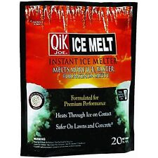 Qik Joe, 50 LB, Ice Melt Pellets, Calcium Chloride, Professional Strength Heat