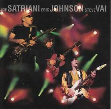 Joe Satriani, Eric Johnson,Steve Vai - G3 Live In Concert ( CD, 1997 )